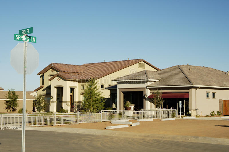 Download Model homes stock photo. Image of community, models, construction - 14436044