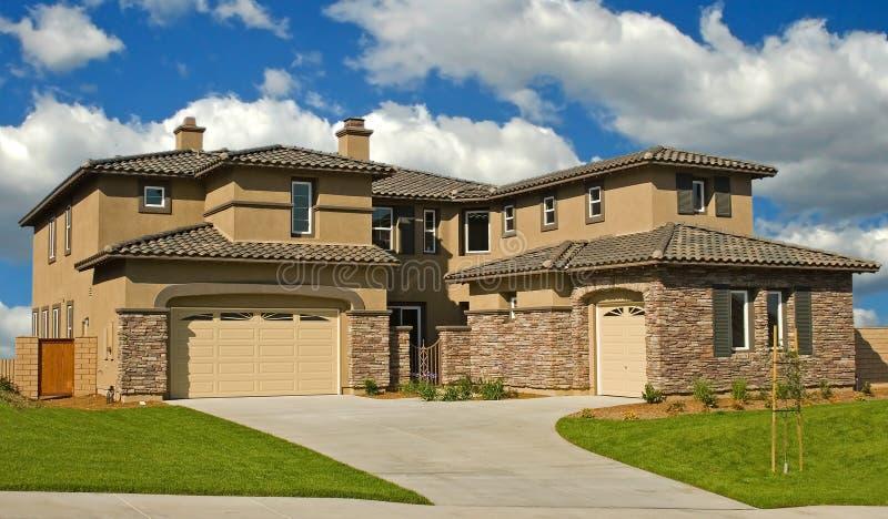 Model Homes stock photo