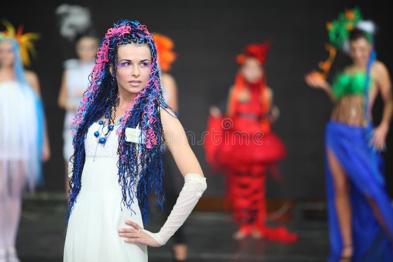 Download Model At III Braiding Russian Championship Editorial Photo - Image: 20697791