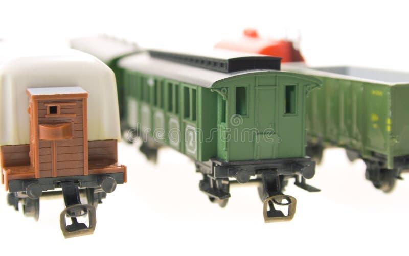 model järnväg arkivbild