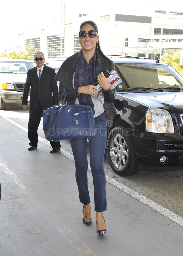 Download Model Kimora Lee Simmons At LAX Airport. Editorial Photography - Image: 20882412