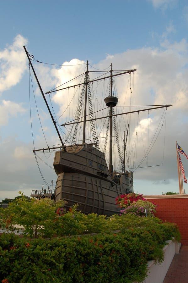 model krigsskepp royaltyfri foto