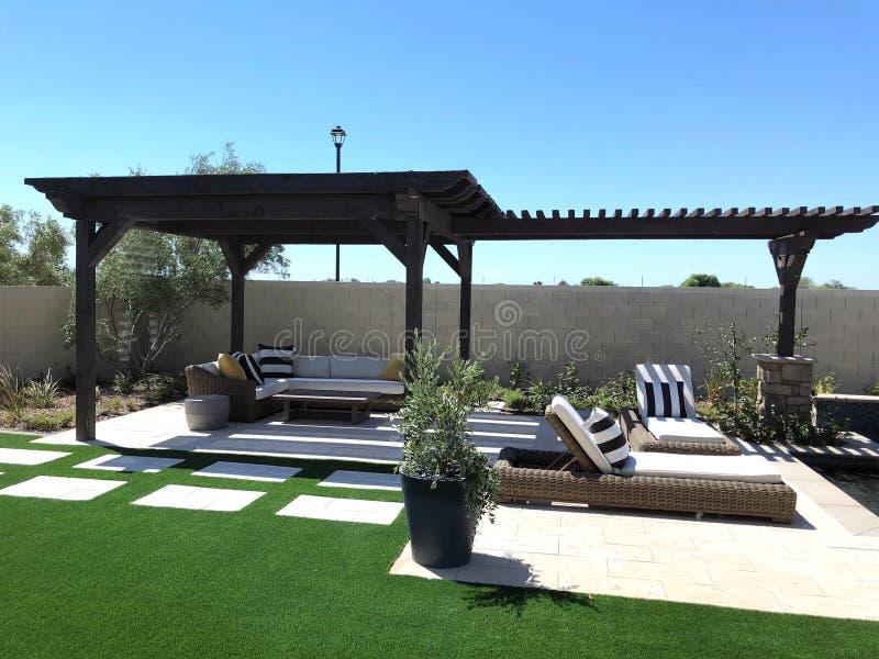 Model Luxury Home Interior. stock image