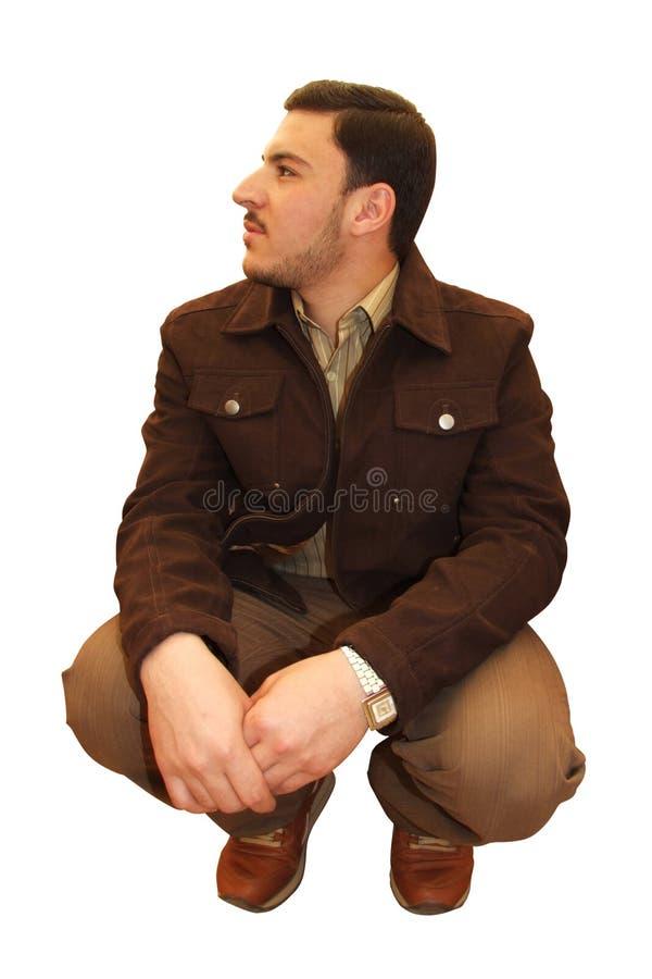 Model man royaltyfri fotografi