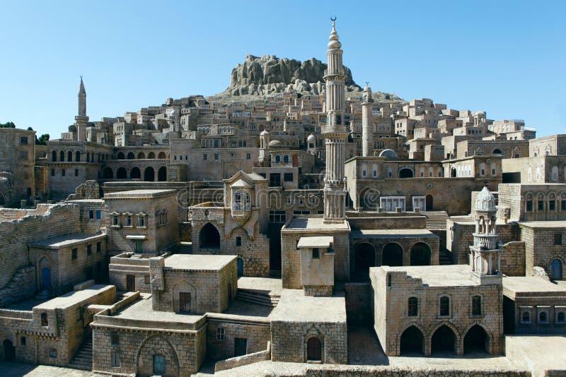 Download Model of Mardin City stock photo. Image of turkey, miniature - 21902596