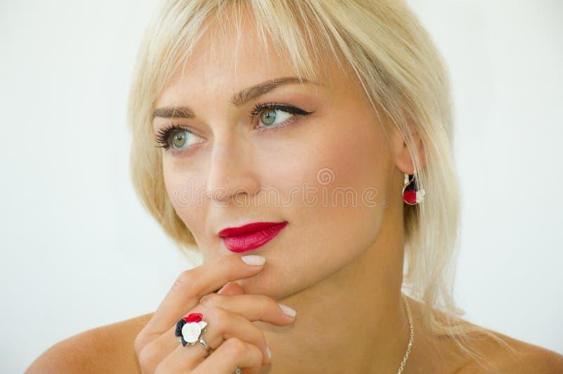 model mody portret zdjęcia royalty free
