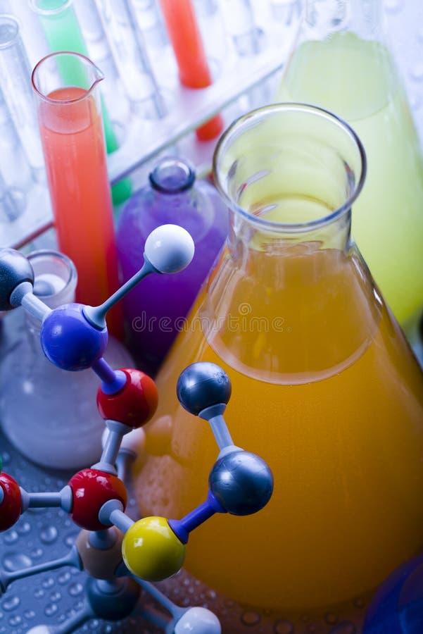 model molekylärt för laboratorium arkivbilder