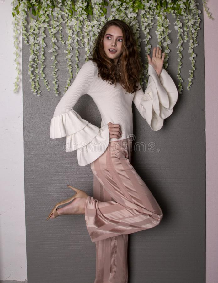 Model nastolatek zdjęcia royalty free