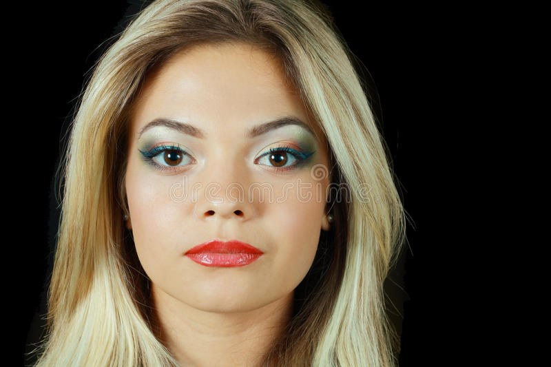 Download Model with perfect make up stock photo. Image of close - 25783170