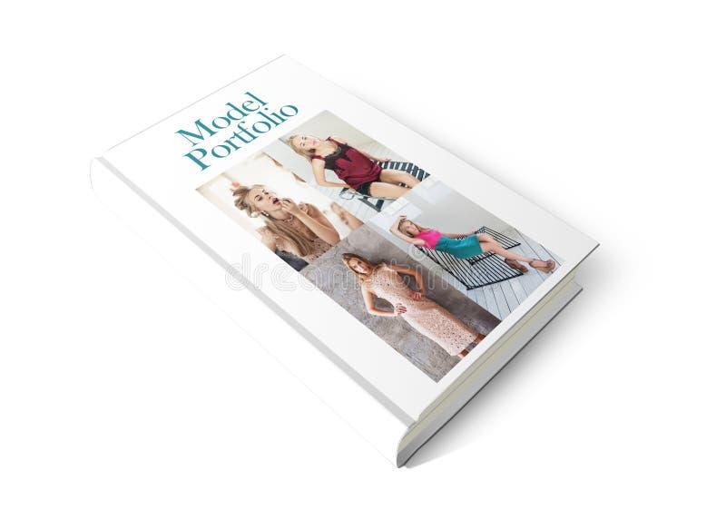 Model Portfolio Book royalty free stock images