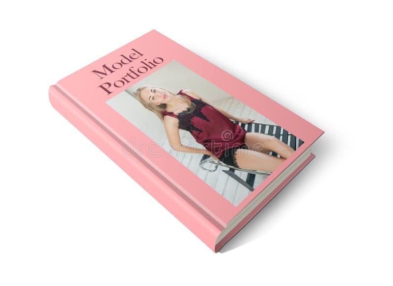 Model Portfolio Book royalty free stock photos