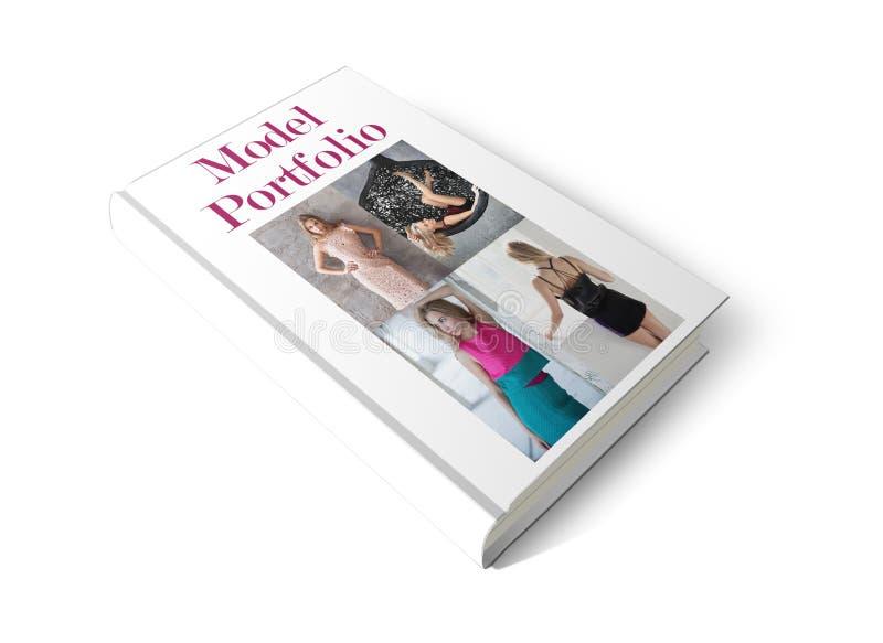 Model Portfolio Book stock photography
