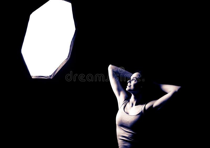 Download Model posing stock image. Image of sensual, pose, people - 25739383