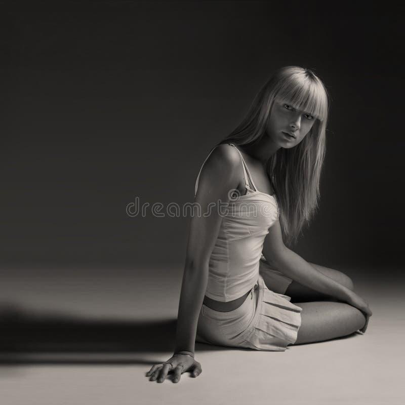 Download Model posing, studio shot stock photo. Image of adult - 18388484