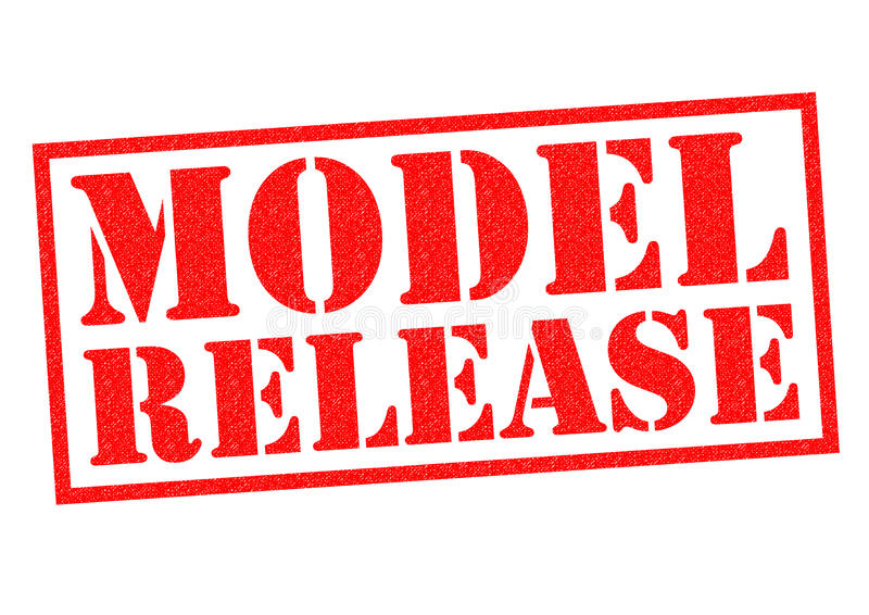 MODEL RELEASE royalty free illustration