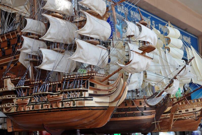 Download Model Sailing Ships, Ho Chi Minh City, Vietnam Editorial Photography - Image: 19773032