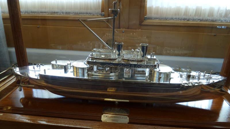 Model schip stock foto