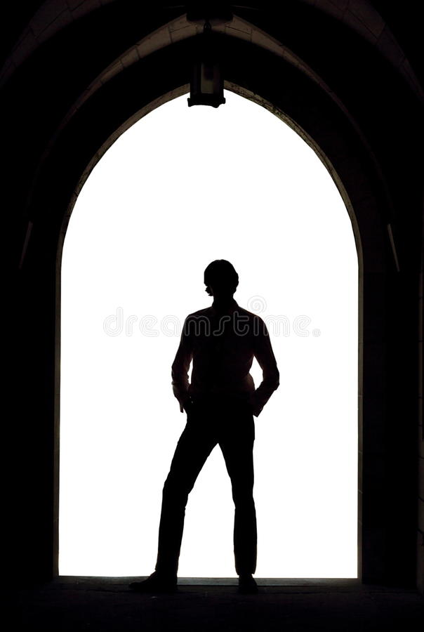 Model Silhouette Stock Images