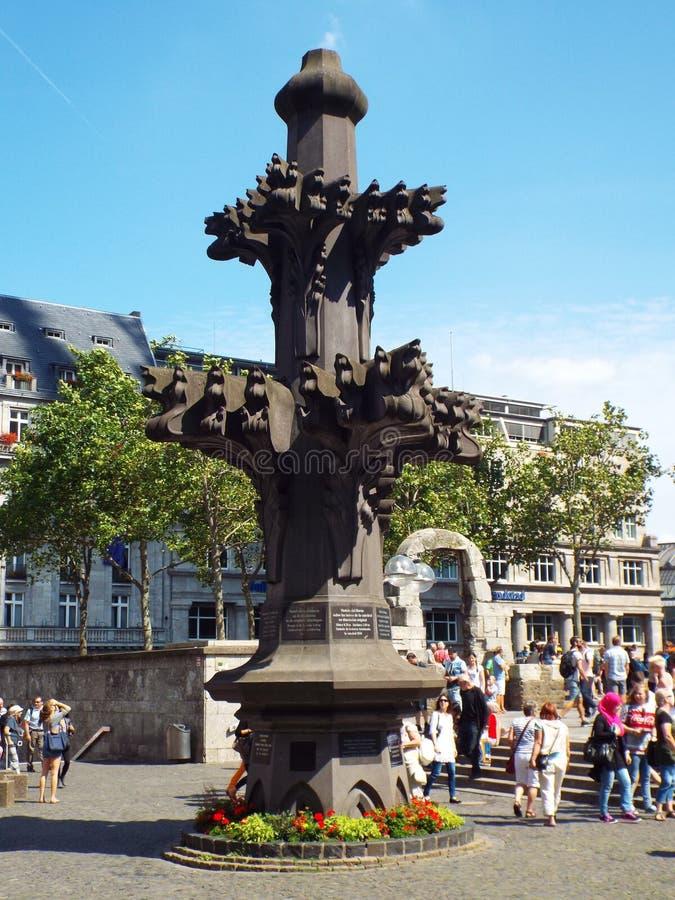 Model spiers Kolońska katedra zdjęcia royalty free