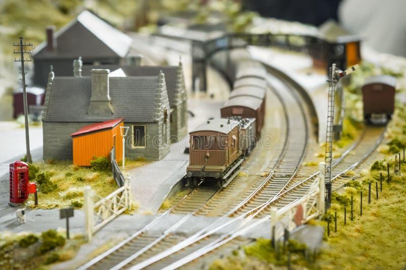 Model station stock afbeelding