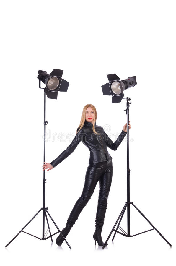 Download Model in the studio stock photo. Image of elegance, glamour - 31601258