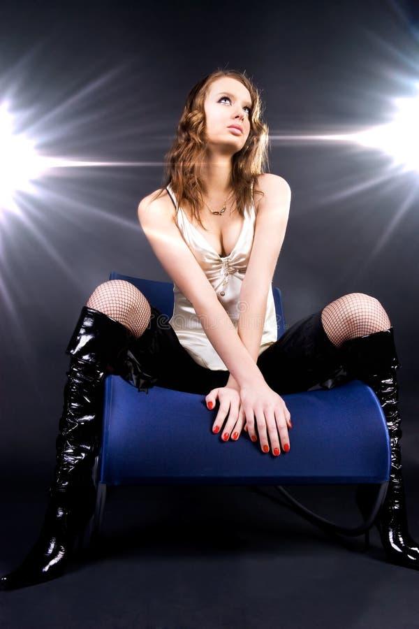 Model superster royalty-vrije stock foto's