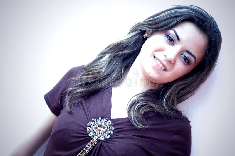 model teen royaltyfri fotografi