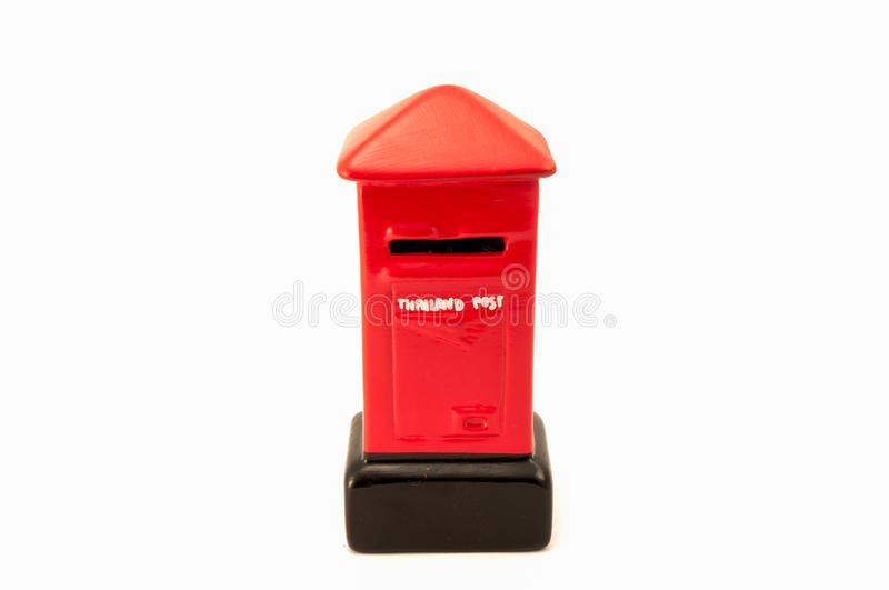 Model Thailand Post Box Royalty Free Stock Photo