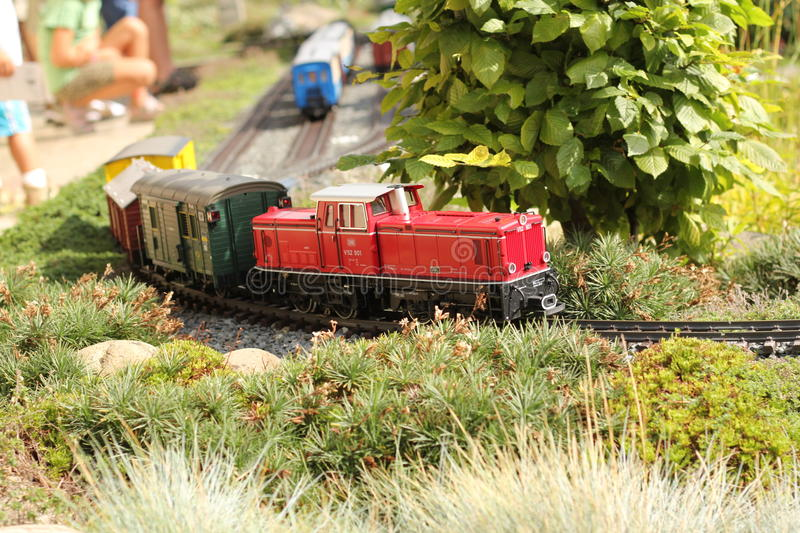 Model train royalty free stock images