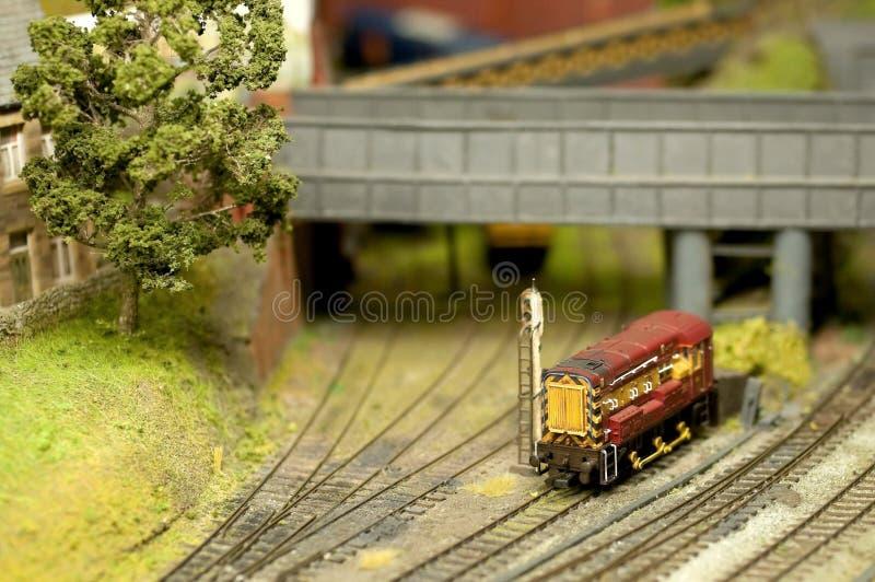 Model trein stock foto's