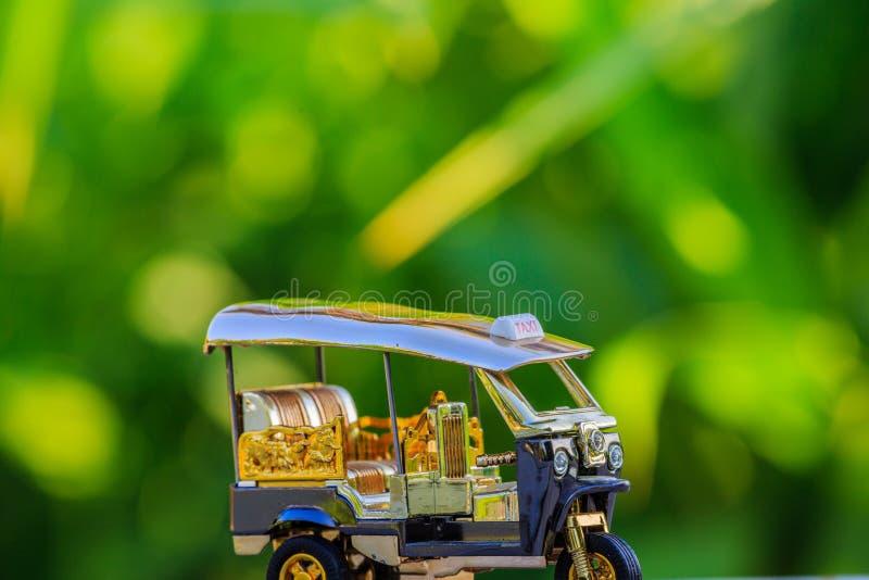 Model Tuk Tuk taxi Thailand royalty free stock photos