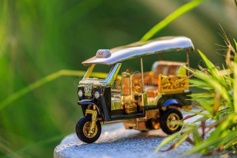 Model Tuk Tuk taxi Thailand royalty free stock image