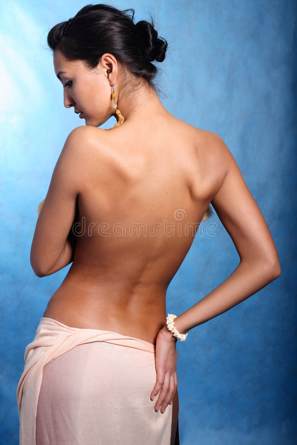 Free Model Turning Around Stock Photo - 8769270