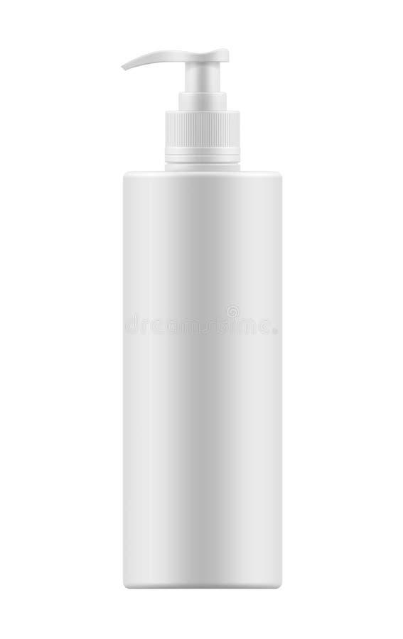 Model van fles met automaat royalty-vrije illustratie