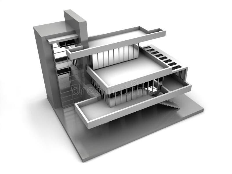 Model van huis vector illustratie