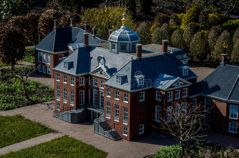 Model van huis ten bosch madurodam den haag nederland for Huis ten bosch hague