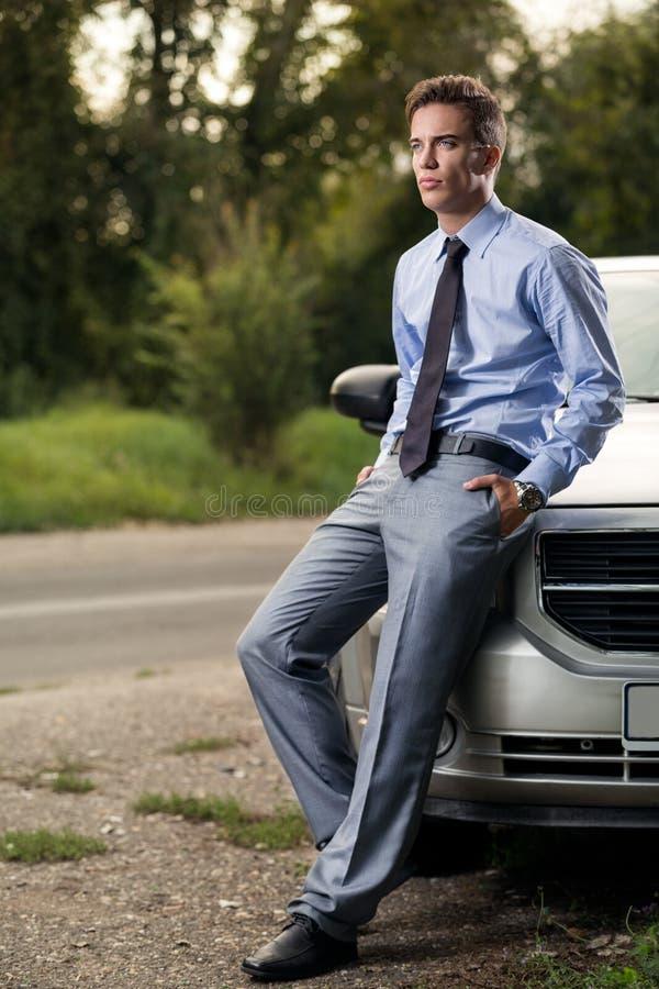 Model van manier volgende auto stock foto's