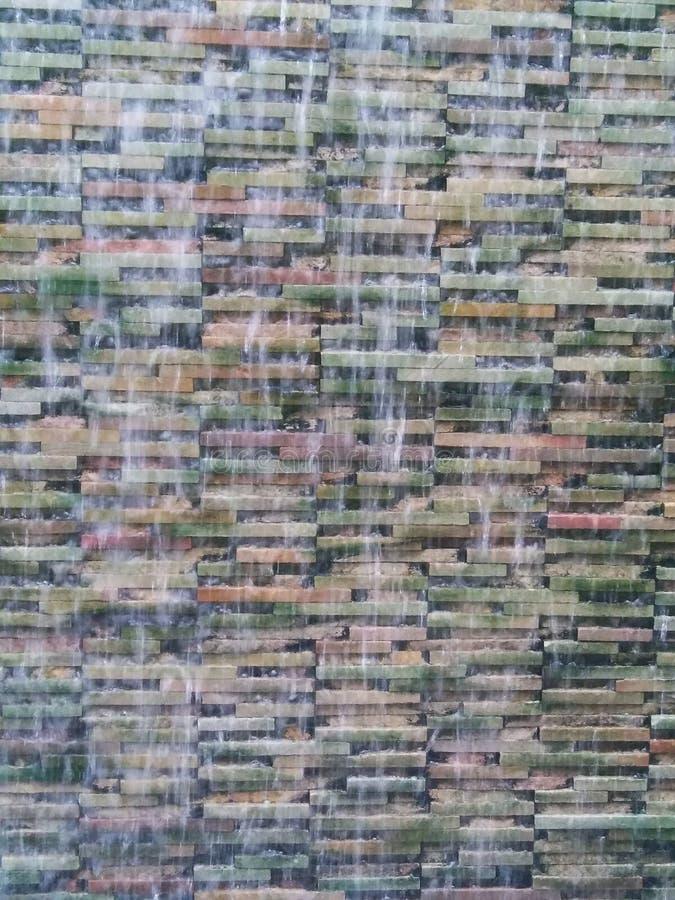 Model van onduidelijk beeld het kleine watervallen voor achtergrond royalty-vrije stock fotografie