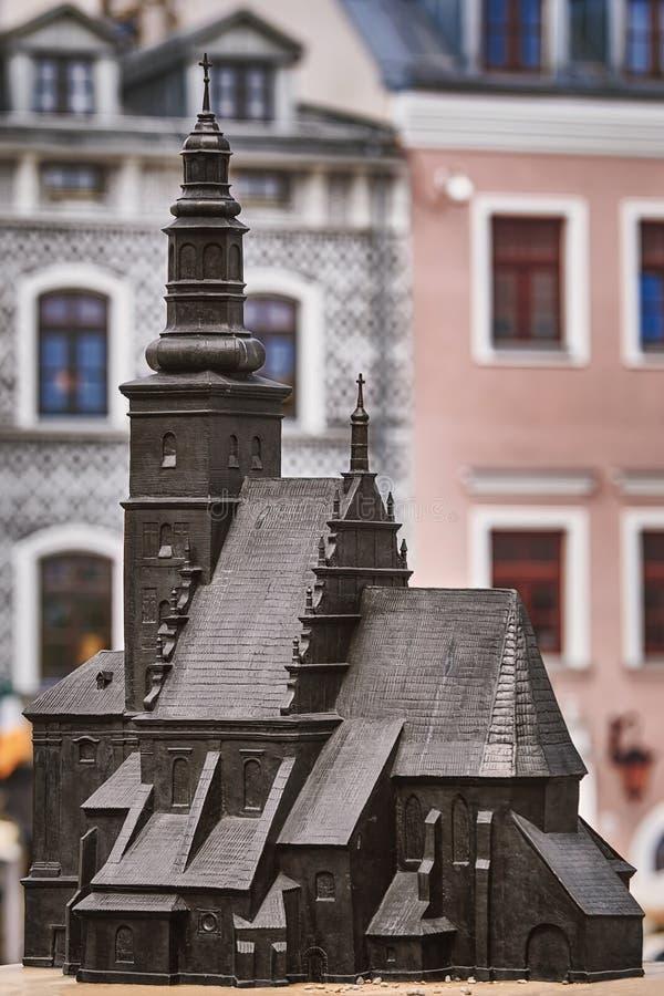Model van Parochiekerk royalty-vrije stock foto