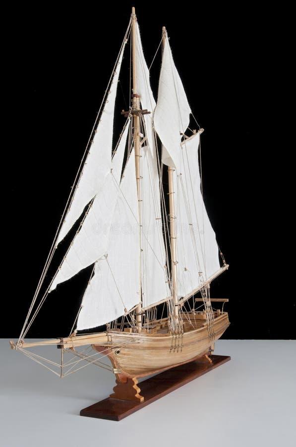 Model van schip royalty-vrije stock foto's