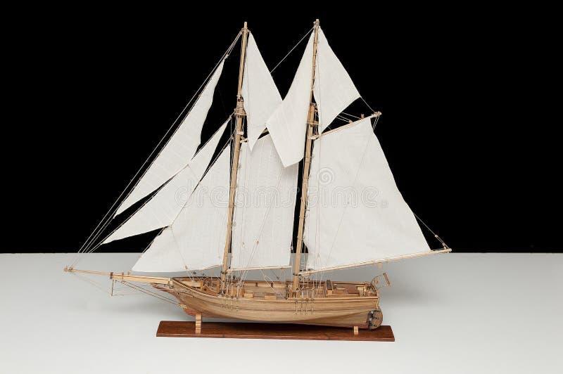 Model van schip royalty-vrije stock fotografie