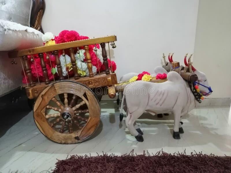 Model van stier-kar stock afbeeldingen