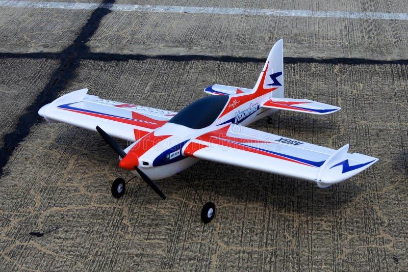 Model van vliegtuig stock afbeeldingen