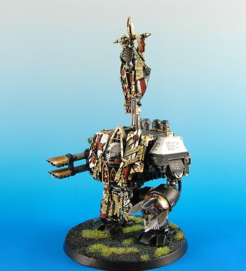 model warhammer royaltyfri bild
