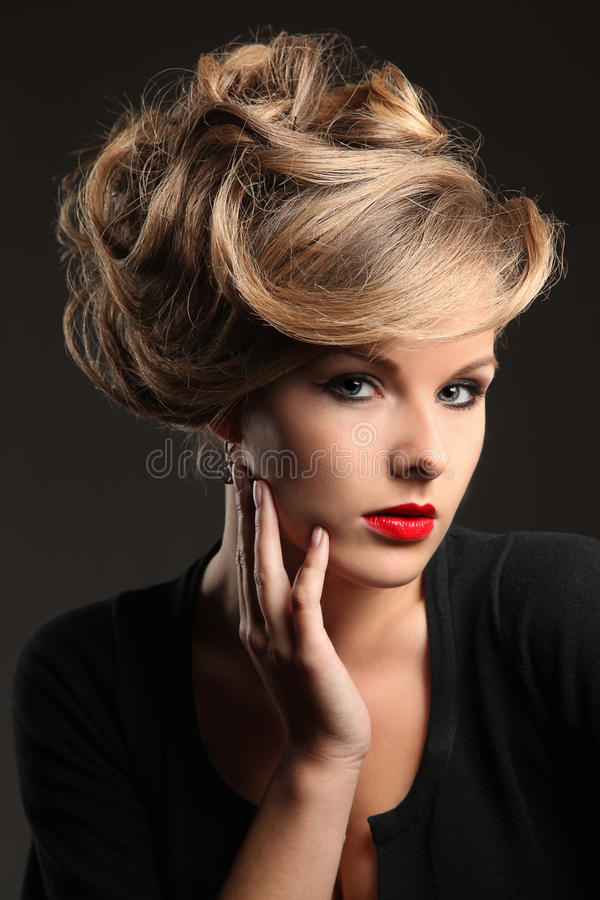 Free Model With Beautiful Hair Royalty Free Stock Photos - 15970288