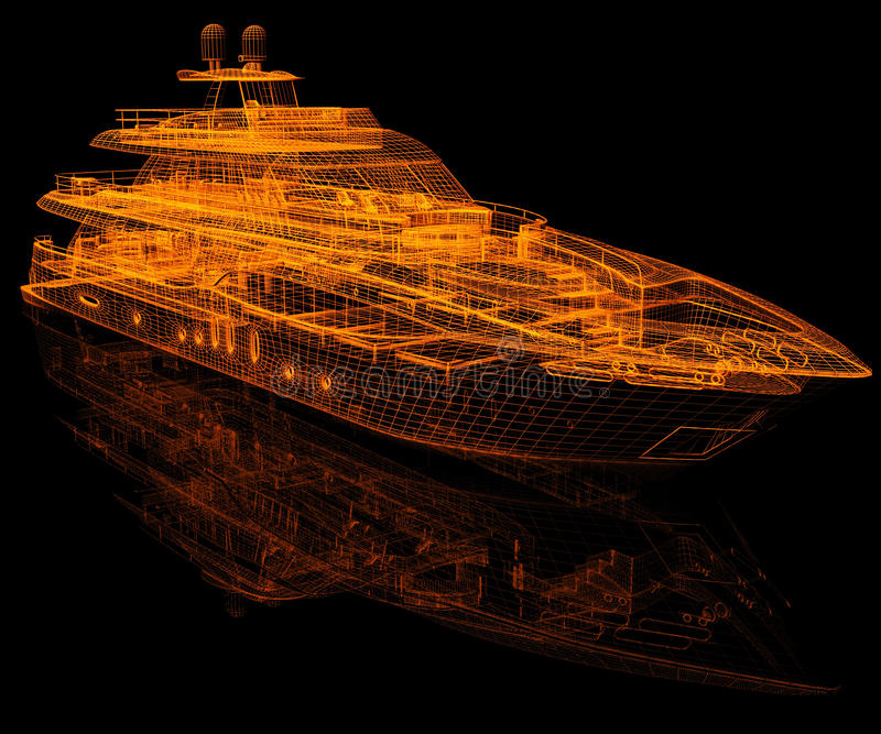 Download Model Yacht Stock Image - Image: 21101971