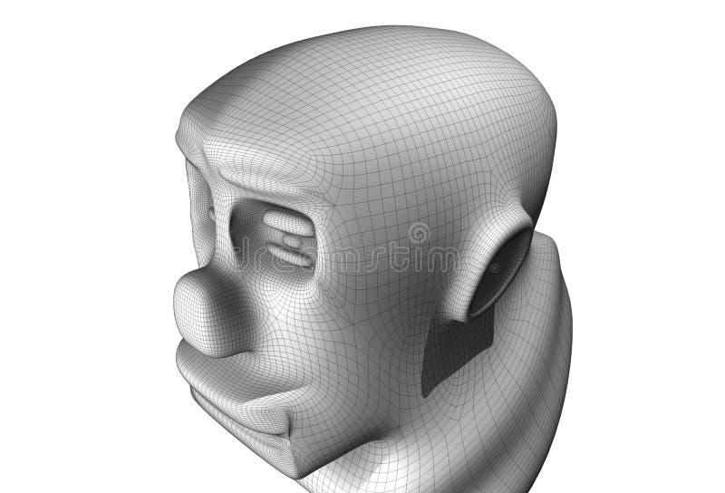 modelado 3D stock de ilustración