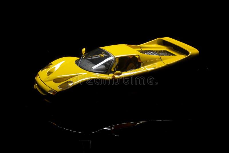 Modelauto Ferrari royalty-vrije stock foto's