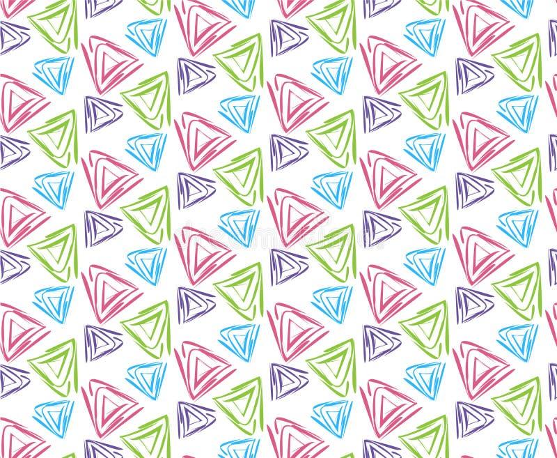 Modele con el ejemplo de los triángulos libre illustration