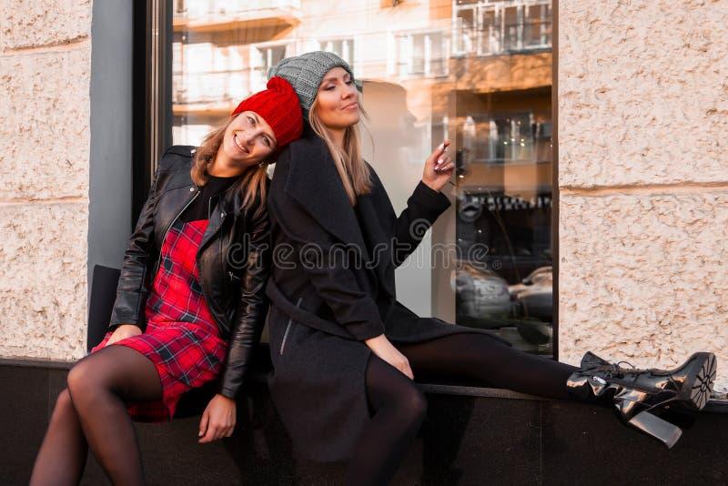 Modelebensstilporträt lizenzfreies stockbild